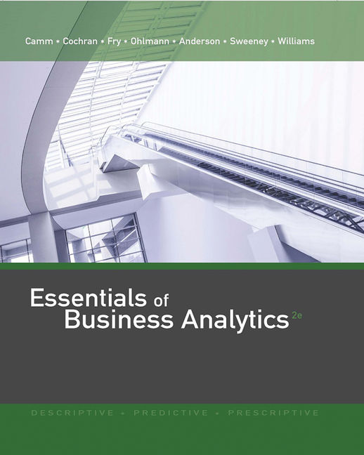 Product cover for MindTap for Essentials of Business Analytics 2nd Edition by Jeffrey D. Camm/James J. Cochran/Michael J. Fry/Jeffrey W. Ohlmann/David R. Anderson/Dennis J. Sweeney/Thomas A. Williams
