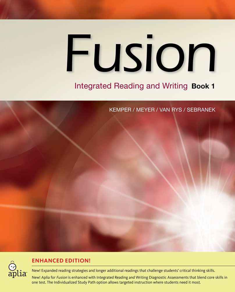 Fusion book 1 enhanced edition integrated reading and writing 1st fusion book 1 enhanced edition integrated reading and writing 1st edition cengage malvernweather Gallery