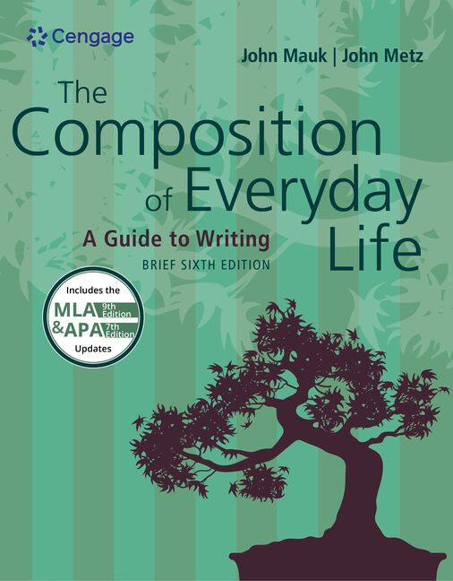 The composition of everyday life brief 6th edition cengage the composition of everyday life brief 6th edition malvernweather Images
