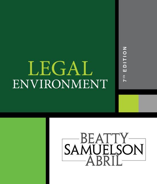 Legal environment 7th edition 9781337390460 cengage look inside fandeluxe Image collections