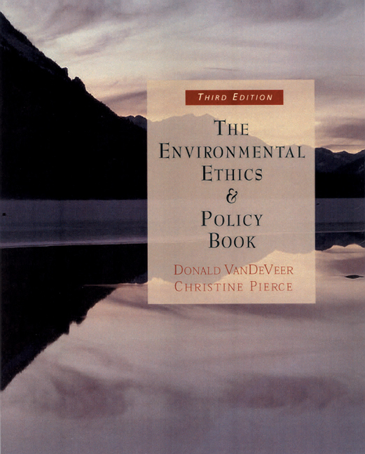 The environmental ethics and policy book philosophy ecology the environmental ethics and policy book philosophy ecology economics 3rd edition cengage fandeluxe Images