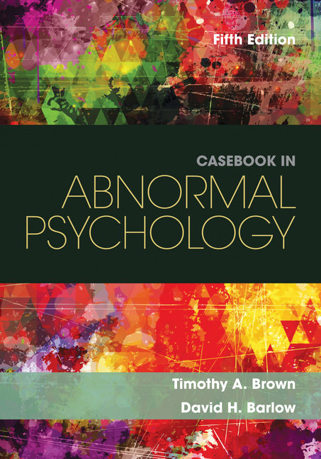 Casebook in abnormal psychology 5th edition cengage fandeluxe Gallery