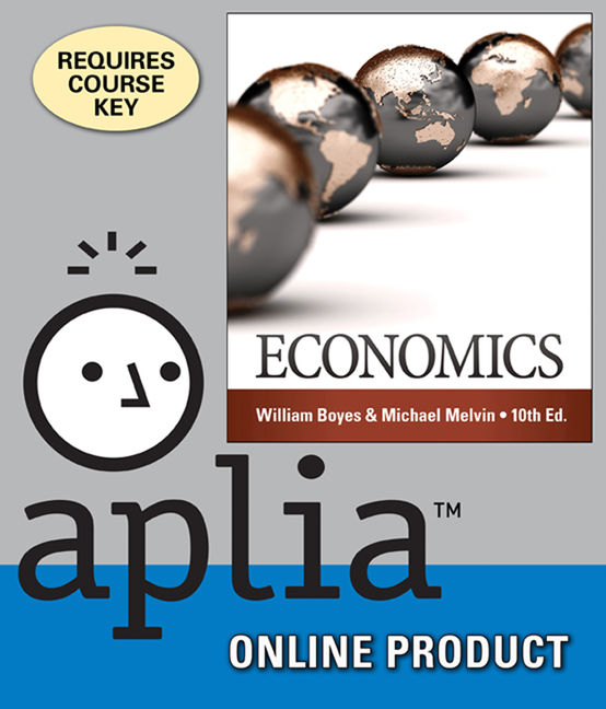 Product cover for Aplia for Economics 10th Edition by William Boyes/Michael Melvin