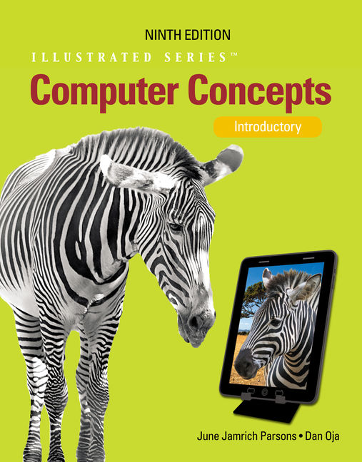 Product cover for Computer Concepts: Illustrated Introductory 9th Edition by June Jamrich Parsons/Dan Oja