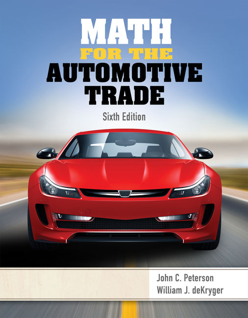 Math for the automotive trade 6th edition cengage fandeluxe Choice Image