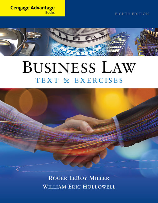 Cengage advantage books business law text and exercises 8th product cover for cengage advantage books business law text and exercises 8th edition by fandeluxe Gallery
