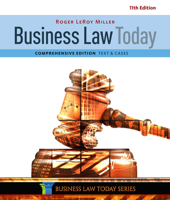 Product cover for Business Law Today, Comprehensive 11th Edition by Roger LeRoy Miller