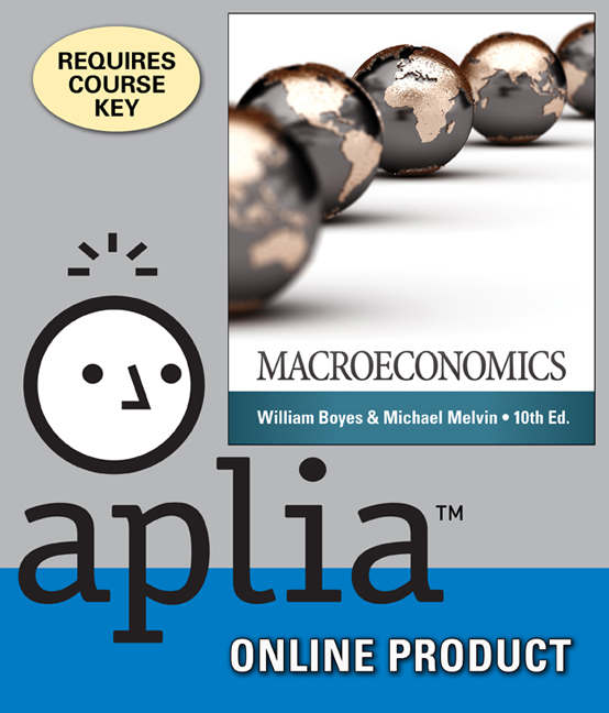 Product cover for Aplia for Macroeconomics 10th Edition by William Boyes/Michael Melvin