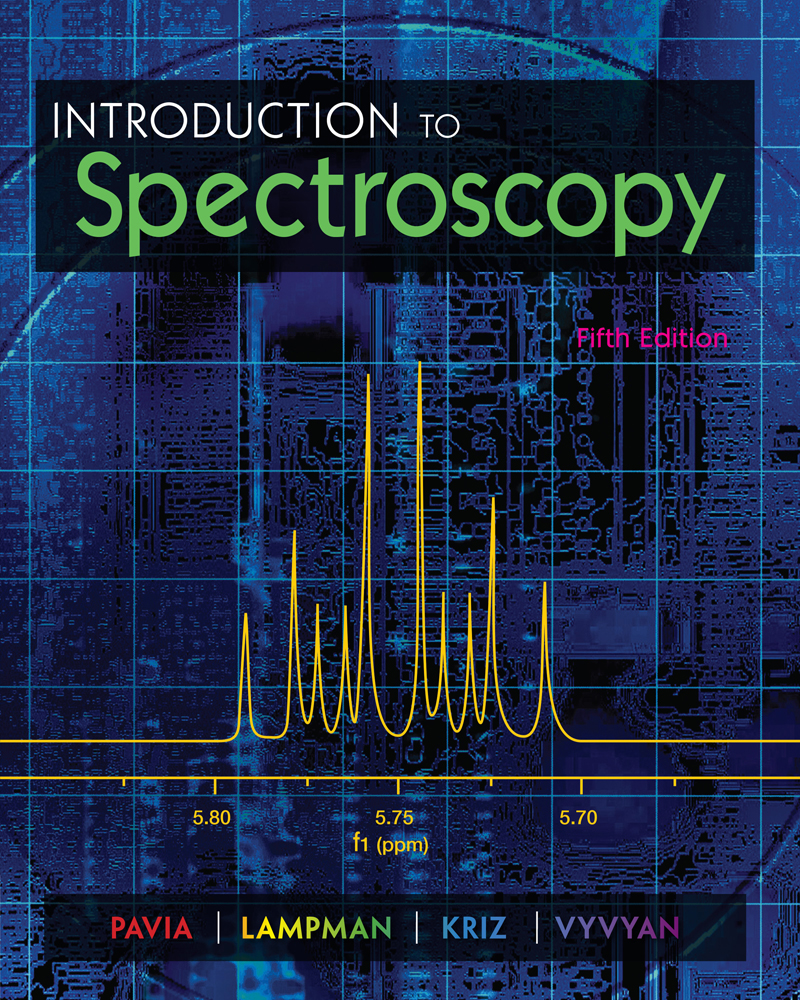 Product cover for Introduction to Spectroscopy 5th Edition by Donald L. Pavia/Gary M. Lampman/George S. Kriz/James A. Vyvyan