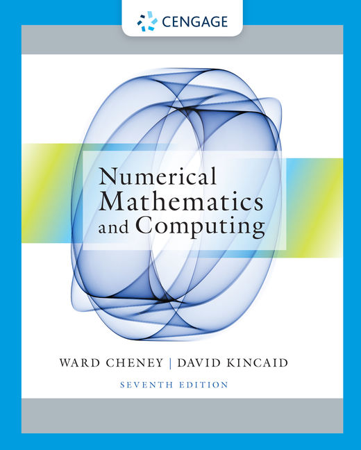Numerical mathematics and computing 7th edition cengage fandeluxe Image collections
