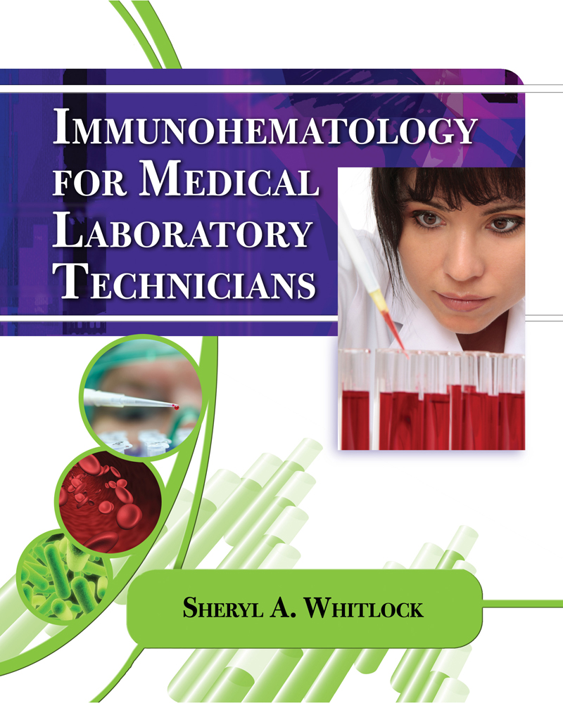 Product cover for Immunohematology for Medical Laboratory Technicians 1st Edition by Sheryl Whitlock