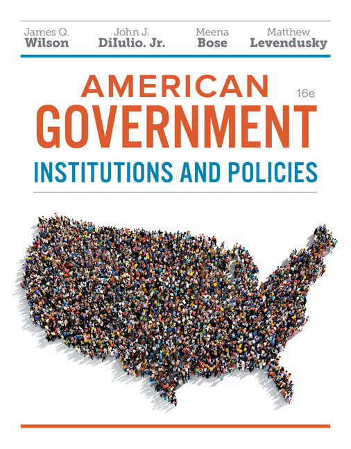 American government institutions and policies 16th edition cengage fandeluxe Gallery