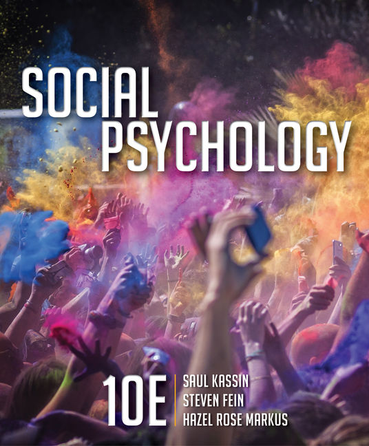 Social psychology 10th edition cengage product cover for social psychology 10th edition by saul kassinsteven feinhazel rose fandeluxe Gallery
