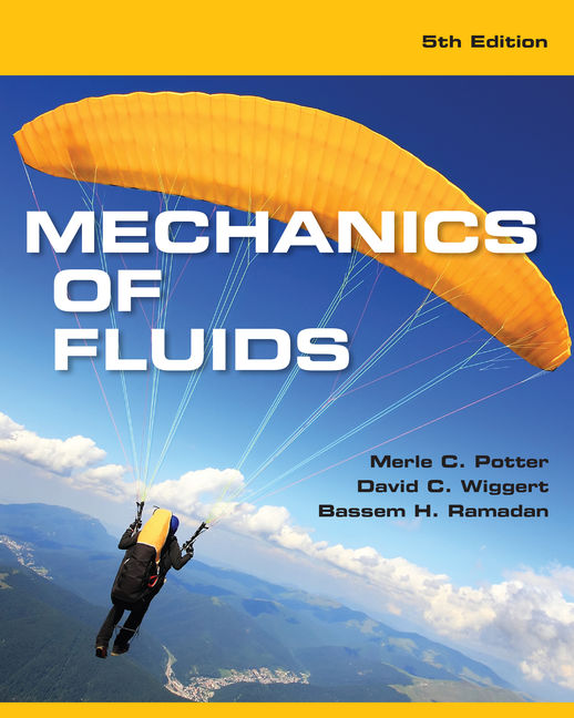 Mechanics of fluids 5th edition 9781305635173 cengage product cover for mechanics of fluids 5th edition by merle c potterdavid c fandeluxe Image collections