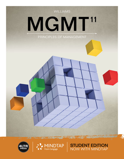 Mgmt 11th edition 9781337407465 cengage mgmt 11th edition by chuck williams fandeluxe Gallery