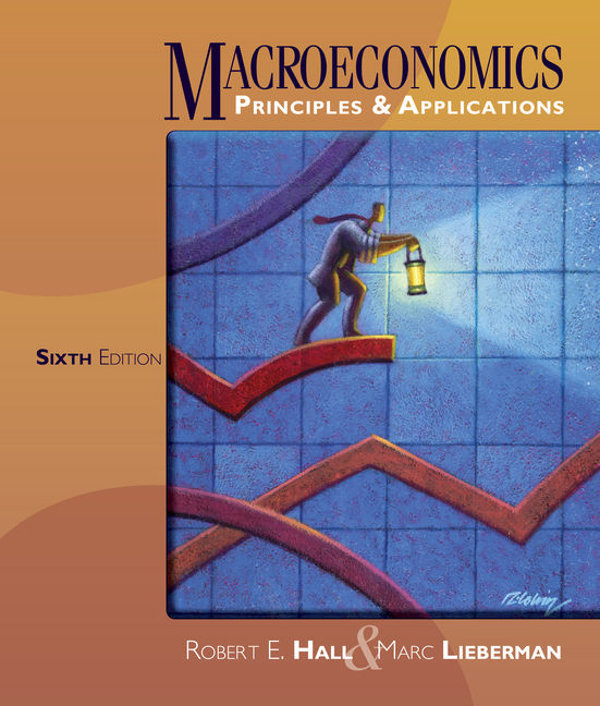 ???label.coverImageAlt??? MindTap Economics for Macroeconomics: Principles and Applications 6th Edition by Robert E. Hall/Marc Lieberman