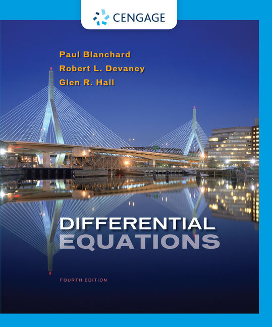 Product cover for Differential Equations 4th Edition by Paul Blanchard/Robert  L. Devaney/