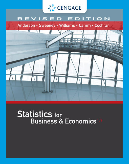 Statistics for business economics revised 13th edition cengage fandeluxe Choice Image