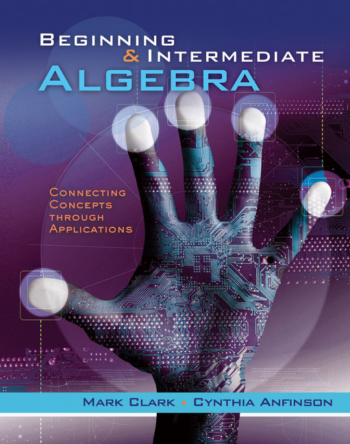 Beginning and intermediate algebra connecting concepts through product cover for beginning and intermediate algebra connecting concepts through applications 1st edition by mark fandeluxe Gallery