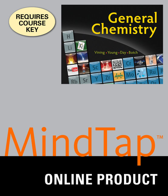 Product cover for MindTap for General Chemistry 1st Edition by William Vining/Susan Young/Roberta Day/Beatrice Botch