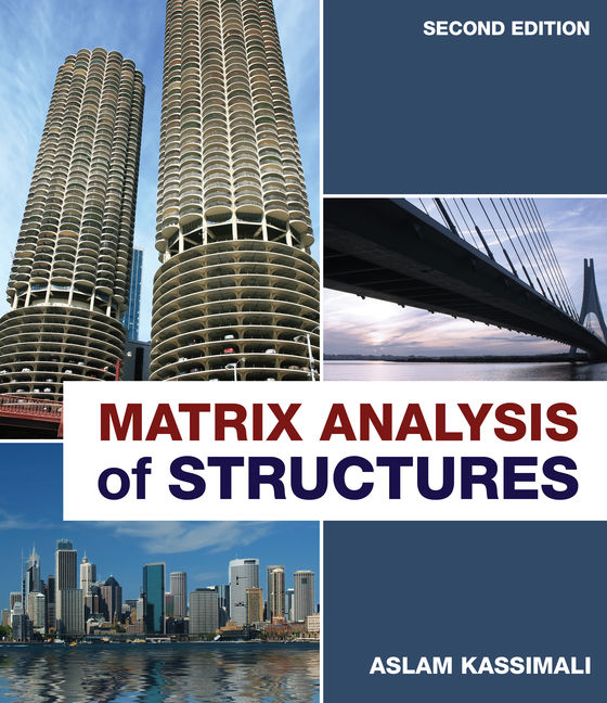 Product cover for Matrix Analysis of Structures 2nd Edition by Aslam Kassimali