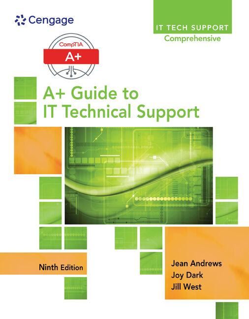 Product cover for A+ Guide to IT Technical Support (Hardware and Software) 9th Edition by Jean Andrews