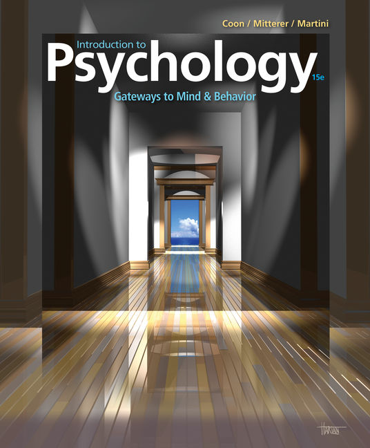 introduction to psychology gateways to mind and behavior 15th edition quizlet