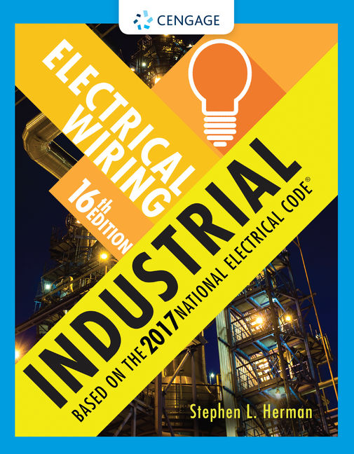 Electrical wiring industrial 16th edition cengage product cover for electrical wiring industrial 16th edition by stephen l herman fandeluxe Choice Image
