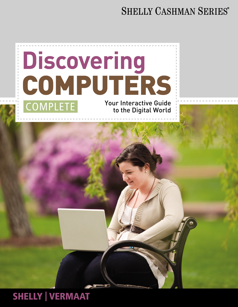 Discovering computers complete your interactive guide to the product cover for discovering computers complete your interactive guide to the digital world 1st fandeluxe Images