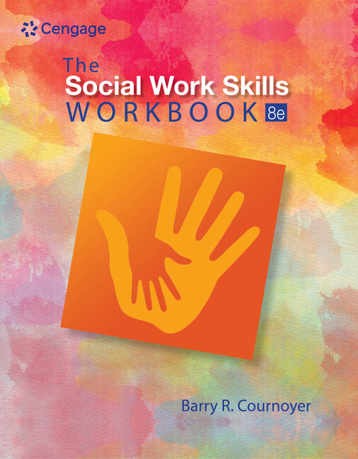 Product cover for The Social Work Skills Workbook 8th Edition by Barry R. Cournoyer