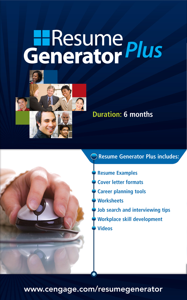product cover for resume generator plus online 12 months instant access code 2nd edition