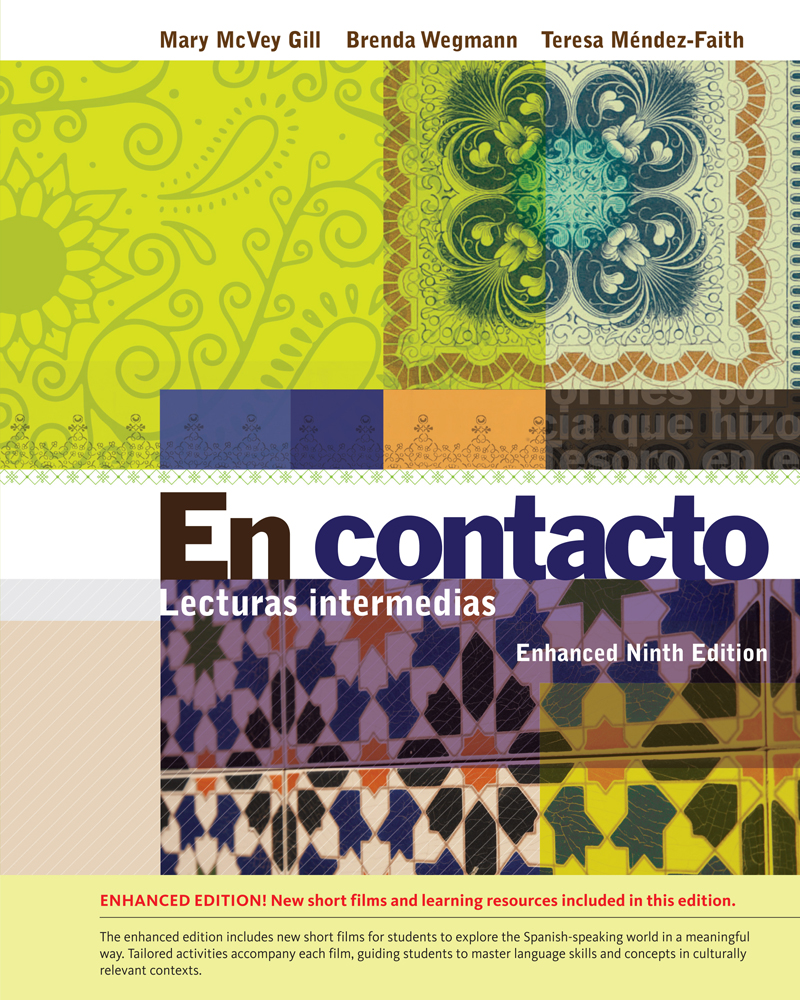 Product cover for En contacto, Enhanced Student Text: Lecturas intermedias  9th Edition by Mary