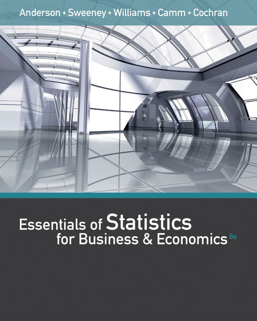 essentials of statistics for business and economics 8th edition