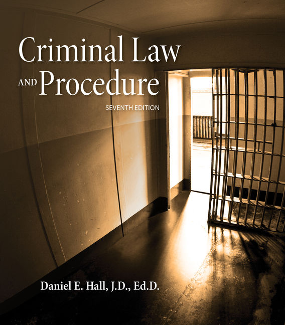 Product cover for MindTap for Criminal Law and Procedure 7th Edition by Daniel E. Hall