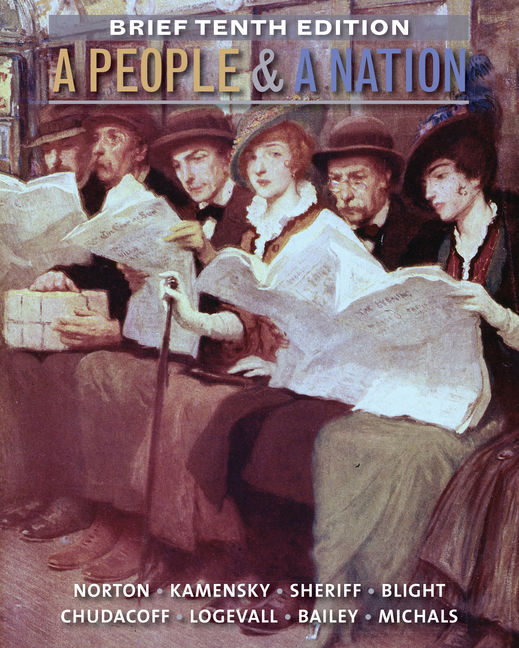 Product cover for Aplia for A People and a Nation, Volume II: Since 1865, Brief Edition 10th Edition by Mary Beth Norton/Jane Kamensky/Carol Sheriff/David W. Blight/Howard P. Chudacoff/Fredrik Logevall/Beth Bailey/Debra Michals