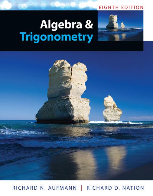 Algebra and trigonometry 8th edition 9781285449425 cengage algebra and trigonometry 8th edition fandeluxe Gallery