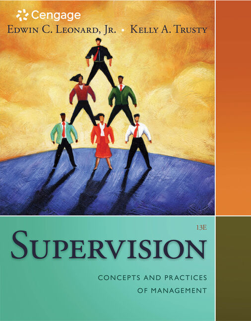 Supervision concepts and practices of management 13th edition product cover for supervision concepts and practices of management 13th edition by edwin c fandeluxe Choice Image