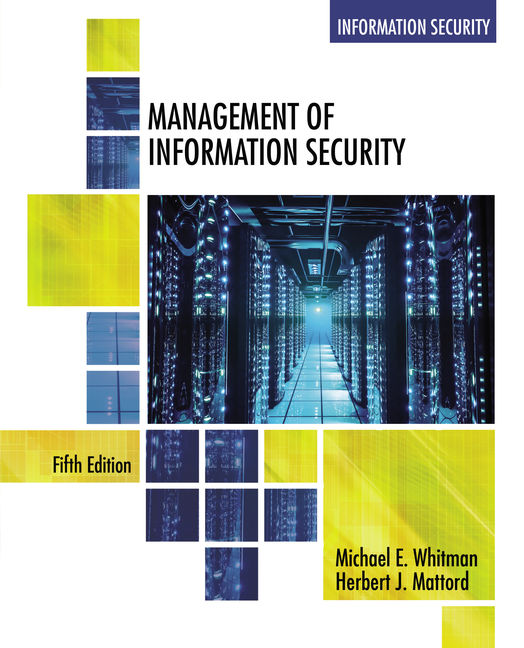 Management of information security 5th edition cengage fandeluxe Gallery