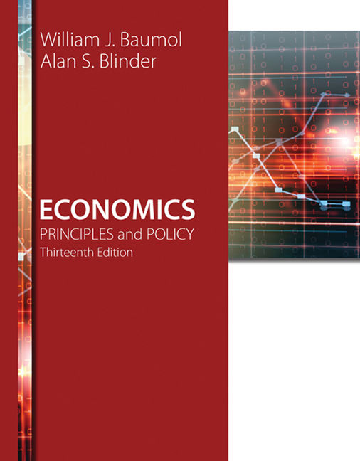 ???label.coverImageAlt??? Aplia for Economics: Principles and Policy 13th Edition by William J. Baumol/Alan S. Blinder