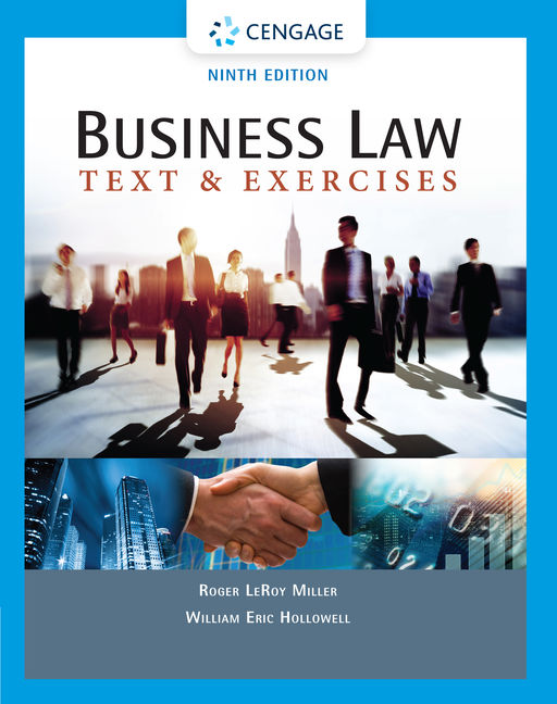 Business law text exercises 9th edition cengage fandeluxe Images