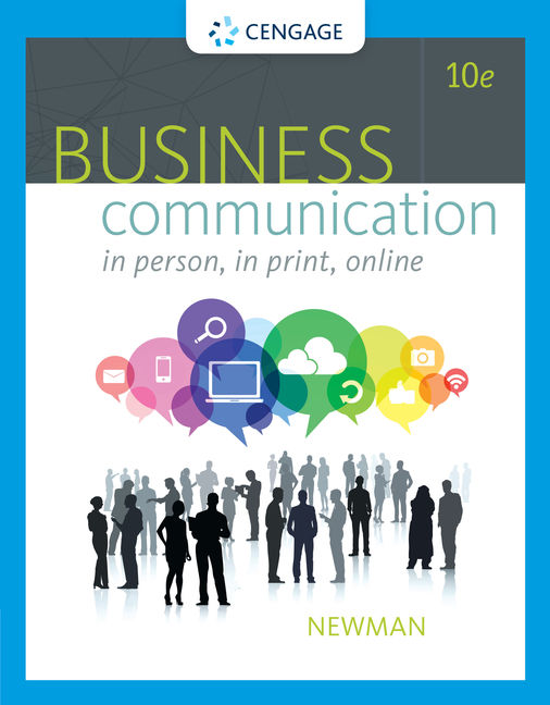 Product cover for Business Communication: In Person, In Print, Online 10th Edition by Amy Newman