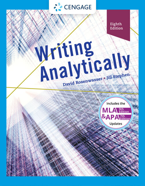 Writing analytically 8th edition cengage writing analytically 8th edition fandeluxe Image collections