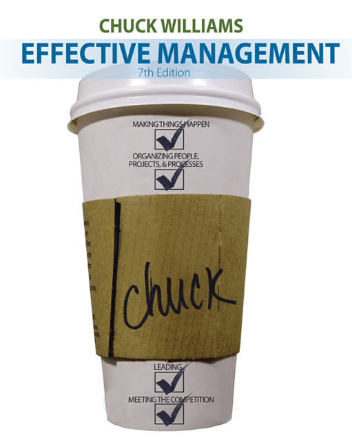 Effective management 7th edition 9781285866246 cengage effective management 7th edition by chuck williams fandeluxe Gallery
