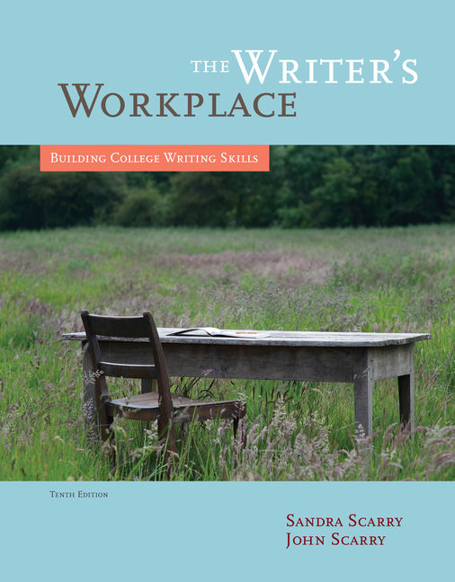 Product cover for The Writer's Workplace: Building College Writing Skills 10th Edition by Sandra Scarry/John Scarry