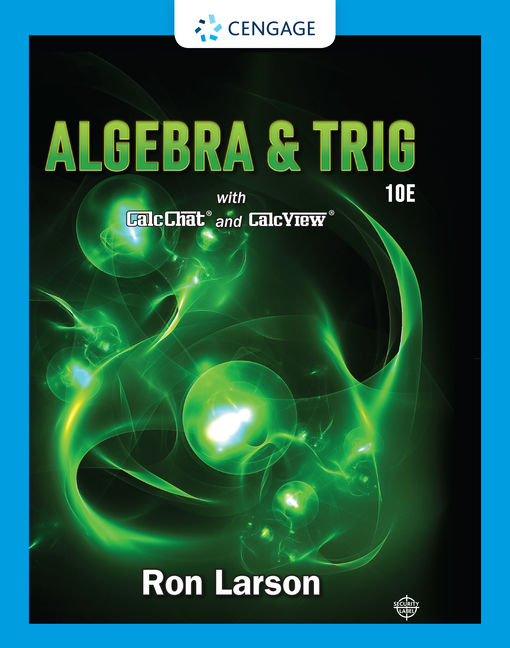 Algebra trigonometry 10th edition cengage fandeluxe Image collections