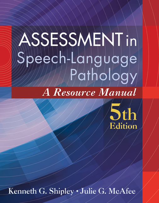 Assessment in Speech-Language Pathology: A Resource Manual, 5th ...
