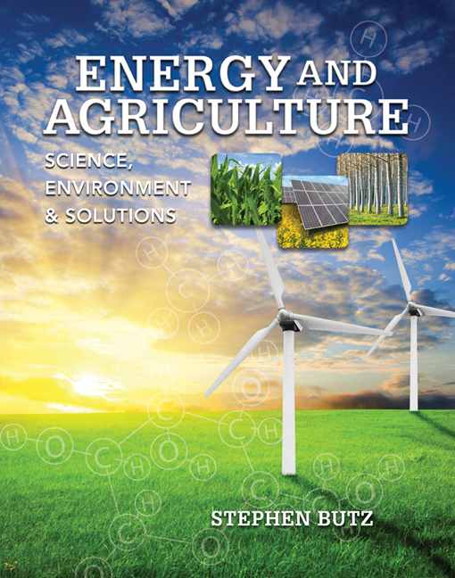 Product cover for Energy and Agriculture: Science, Environment, and Solutions 1st Edition by Stephen Butz