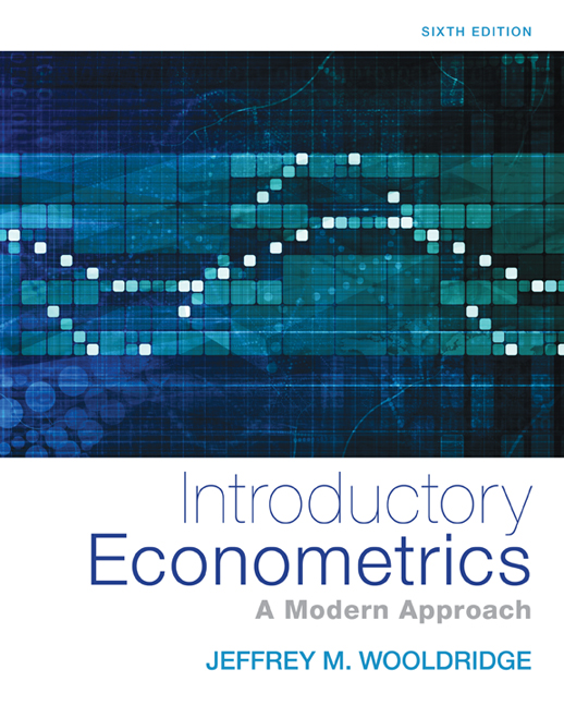 Introductory econometrics a modern approach 6th edition cengage fandeluxe Gallery