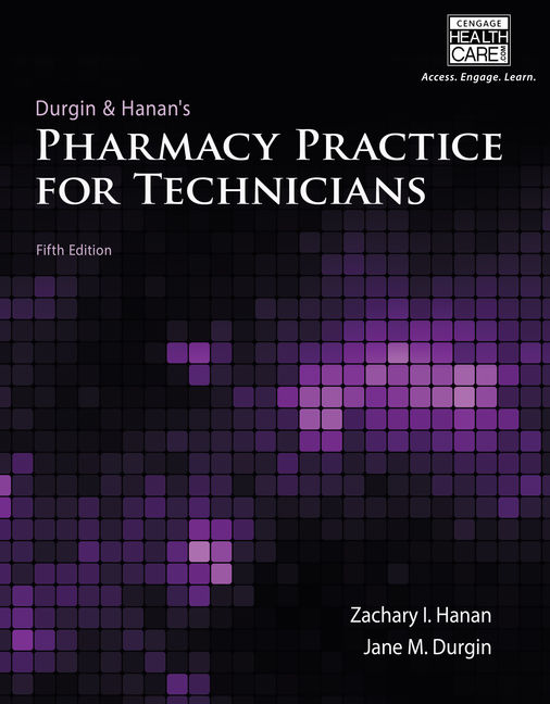 Pharmacy practice for technicians 5th edition 9781133132769 cengage pharmacy practice for technicians 5th edition fandeluxe Gallery