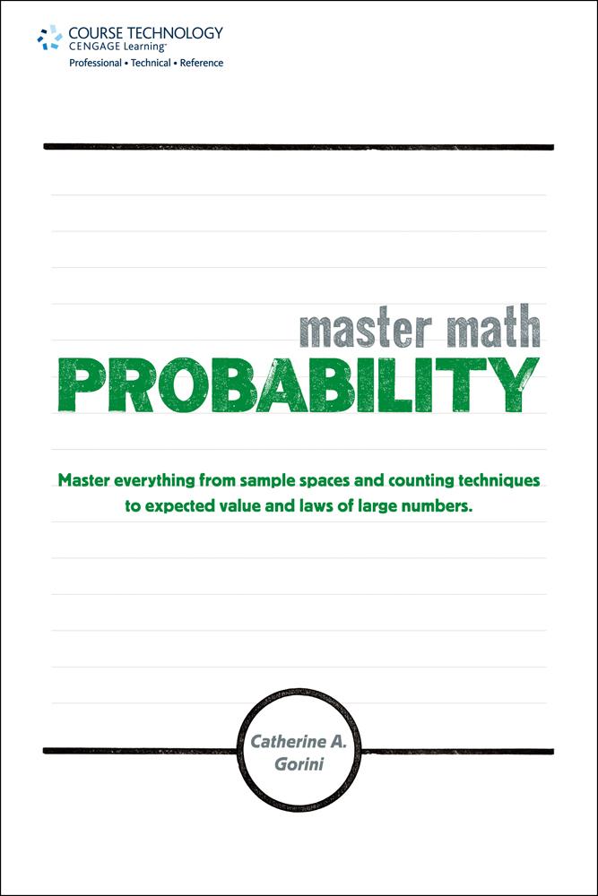 Master Math Probability 1st Edition Cengage border=